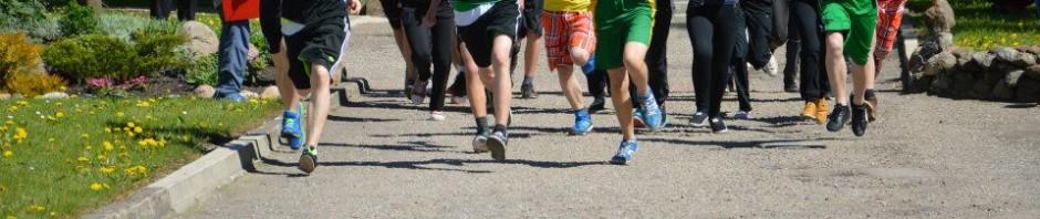 Bėgimas Europos dienai paminėti